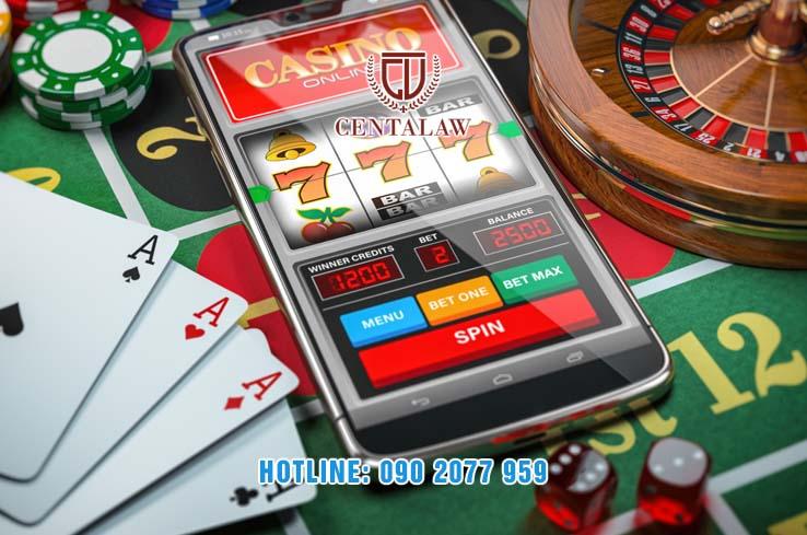 Hành vi đánh bạc qua mạng