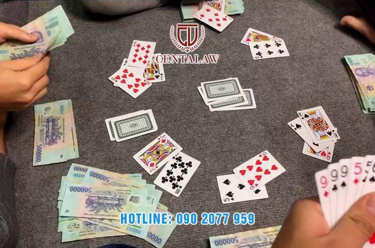 Hành vi đánh bạc trái phép