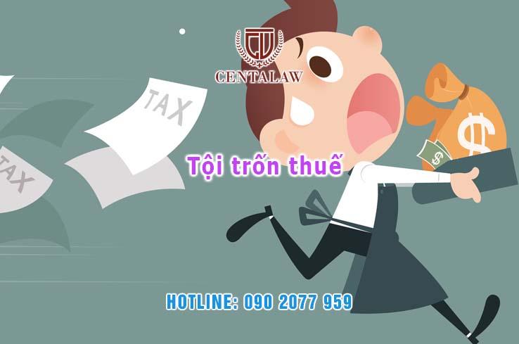 Khái niệm về tội trốn thuế